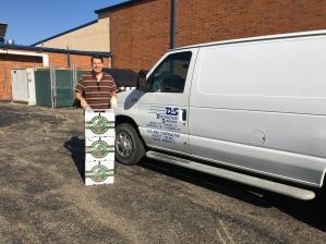 Charles delivery DS Van